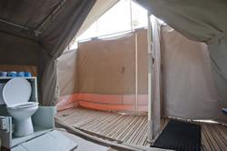 African Safari Camping Site In Tanzania Serengeti Kati