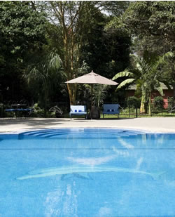 Swimming pool at Olasiti Lodge